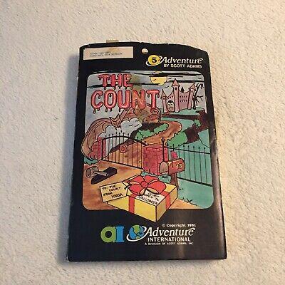 The Count - Scott Adams Adventure International - Atari - Very Rare
