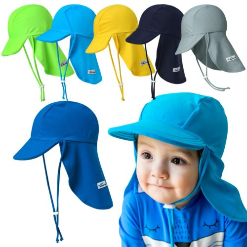 "Vaenait Baby Clothes Kids Toddler Boys Swimming Flap Cap ""Boys UV Sunhat"" 1T-7T"