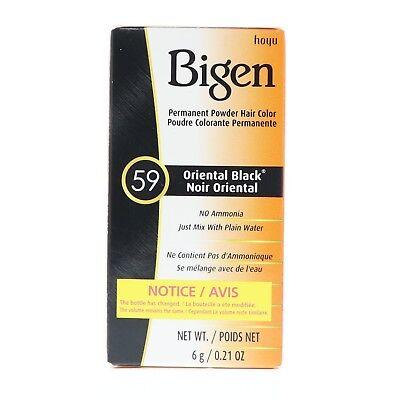 Bigen Oriental Black Hair Color #59 1kit