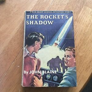 The Rockets Shadow vintage 40s sci fi novel
