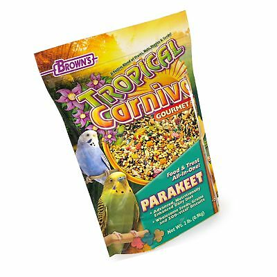 F.M. Brown's Tropical Carnival Zoo-Vital Parakeet & Budgie Pell... Free Shipping Tropical Carnival Parakeet