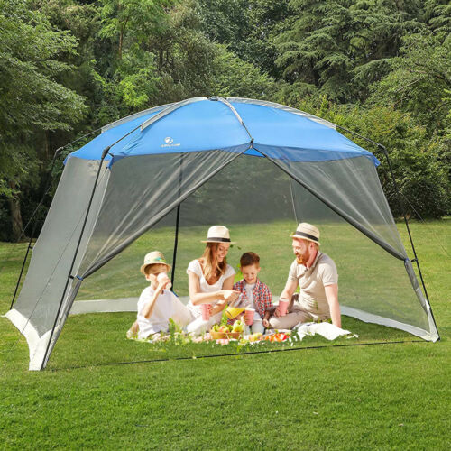 13ft x 9ft Screen House Canopy Tent Outdoor Shade Gazebo Mesh Protection Bug Off