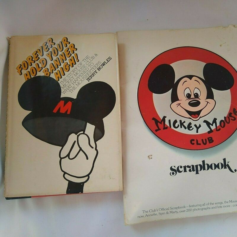 Mickey Mouse Club Books, 1950