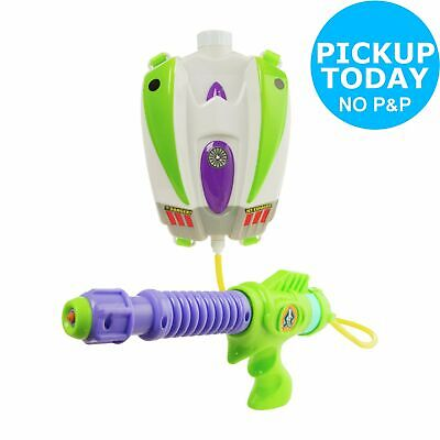 Toy Story Buzz Lightyear Water Blaster Backpack.