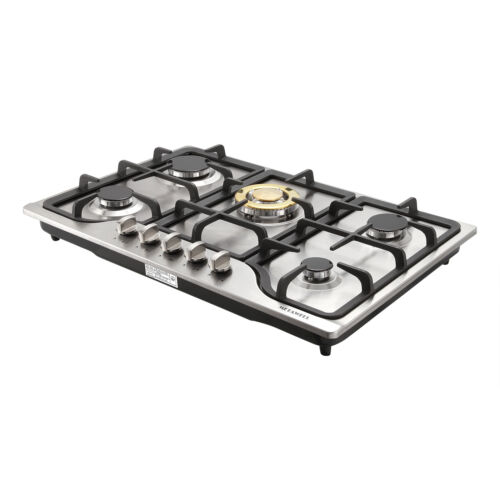 """METAWELL 30"""" Stainless Steel Built-in 5 NG Gas Stoves Natura"""