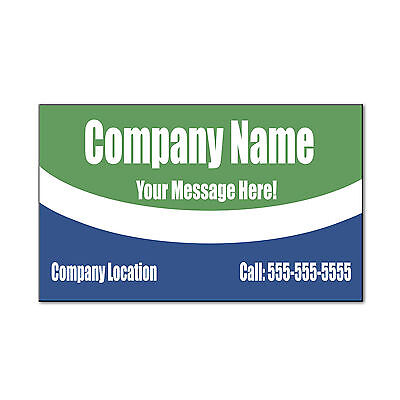Custom Company Custom Message Address Phone Car Door Magnets Magnetic Sign-QTY 2 Party Door Sign