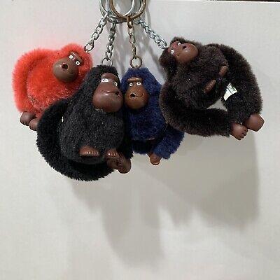 Kipling Monkey Keychains Lot Of 4