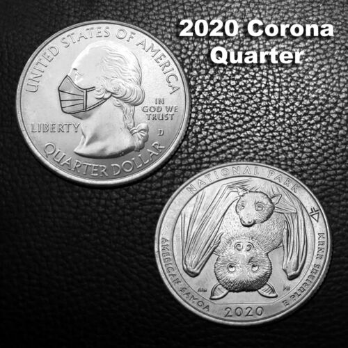 2020 Corona Quarter and Bats on reverse side. - Hobo Nickel