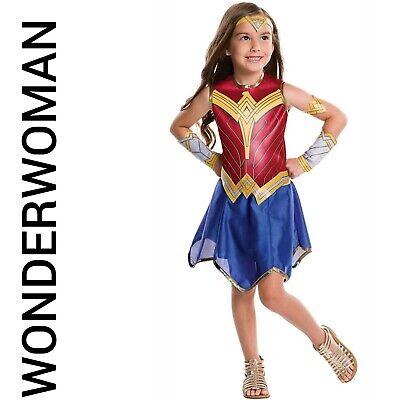 Wonder Woman Girls Child Costume Size Large 12-14 NEW](Wonder Woman Kids Costume)