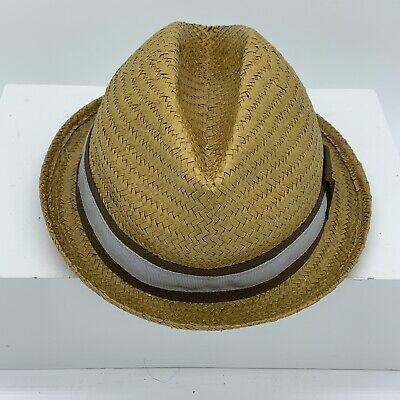 Goorin Bros Everyday Sand Cassel Kids Straw Fedora Hat One Size Goorin Kids Hat