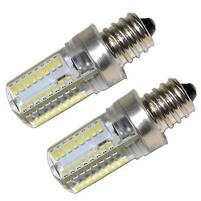 2-Pack E12 Candelabra Base LED Bulb for GE General Electric
