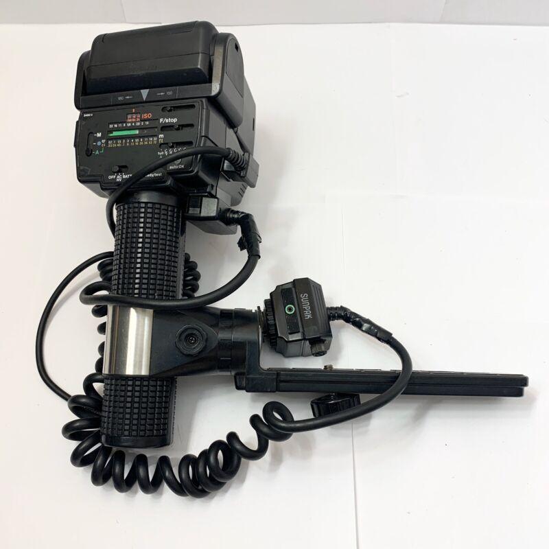 Sunpak Auto 555 Thyristor Camera Flash for all of manual film camera