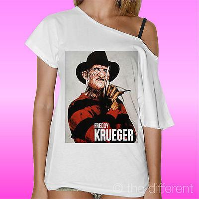T-Shirt Hals Boot Freddy Krueger Horror Film Geschenkidee