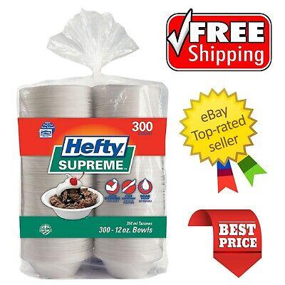 Hefty Supreme Foam Bowls Heavyweight, 12 oz. 300 ct.