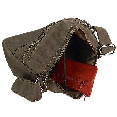 Kleine Süße Umhängetasche Schultertasche Damen Tasche City Reisetasche Braun 2