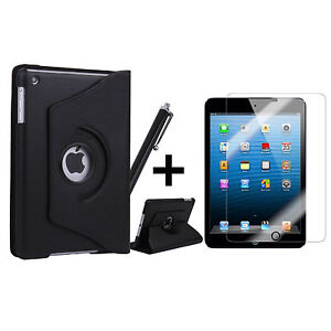 360 Rotating PU Leather Case Smart Cover Stand for iPad2 iPad3 iPad4