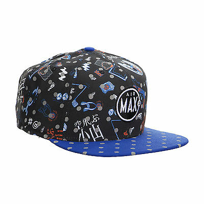 NIKE AIR MAX 2 CB 34 CHARLES BARKLEY SNAPBACK 715974-010 BLACK/ROYAL/WHITE RETRO
