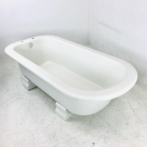 Antique French Cast Iron Bathtub