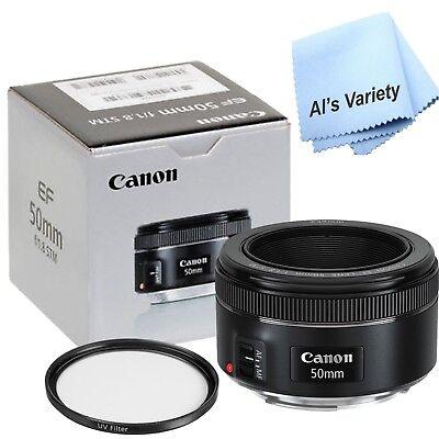 Canon EF 50mm f/1.8 STM Standard Autofocus Lens for DSLR Cameras
