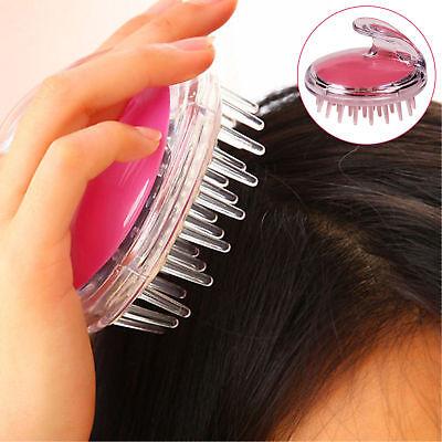 1PC Silicone Shampoo Scalp Brush Comb Shower Body Washing Hair Massage Massager