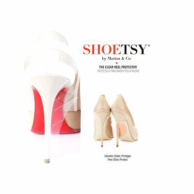 Crystal Clear High Heel Protector for Christian Louboutin Red Soles Crystal High Heel