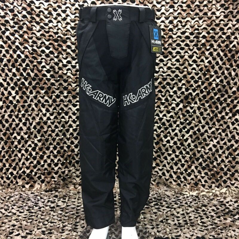 New HK Army HSTL Paintball Pants - Black - Large