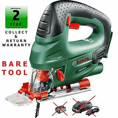 (savers Bosch PST18Li - BARE TOOL Li-ON-Cordless Jigsaw 0603011002 3165140577175)
