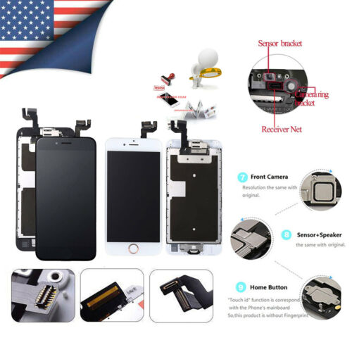 OEM LCD display Screen Digitizer Replacement Full Assembly iPhone 6s 6S Plus 6