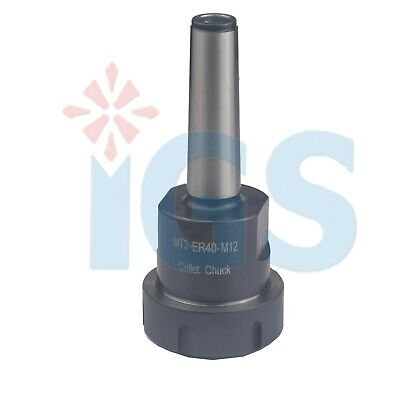 New M12 Mt3 Er40 Collet Chuck Mt3 Shankfor Cnc Milling Usa Sell
