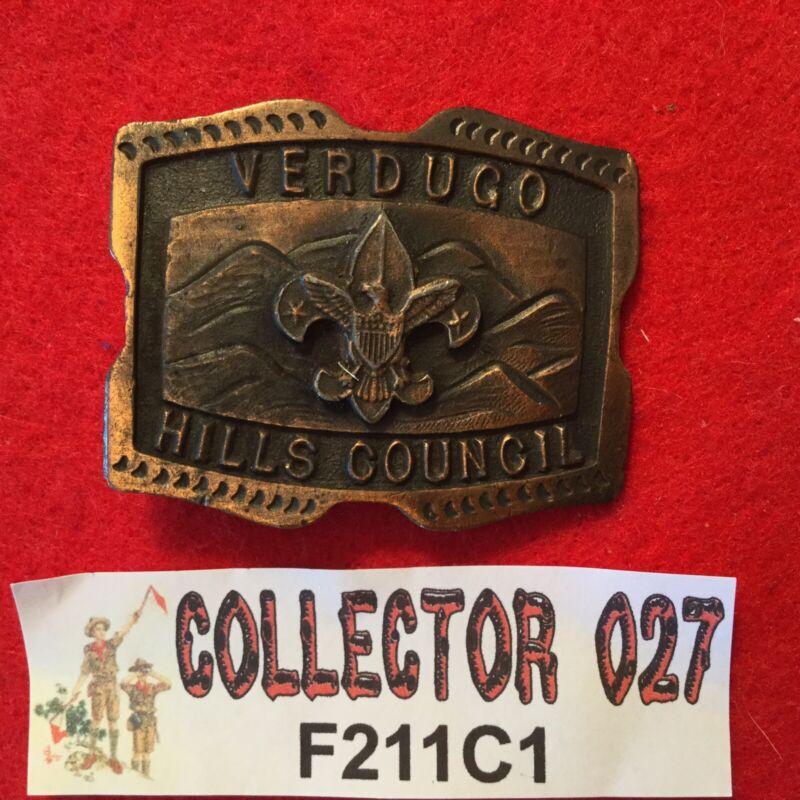 Boy Scout Verdugo Hills Council Belt Buckle