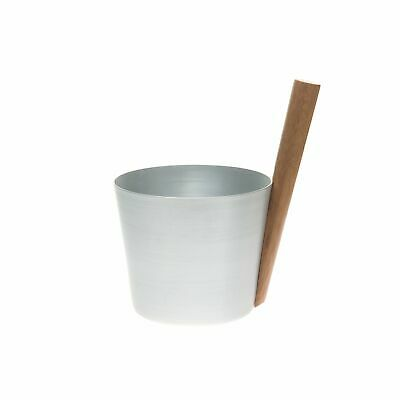 Rento 5 Litre Anodised Aluminium Sauna Pail in Natural