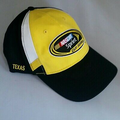 f524139acac25 Vintage NASCAR Victory Lane hat Kyle Busch Texas race used NOS 2016