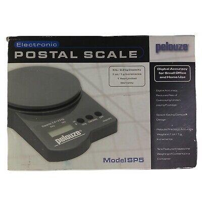 Pelouze Electronic Postal Scale - Model Sp5 - 5 Lb2.2 Kg Capacity Fast Ship
