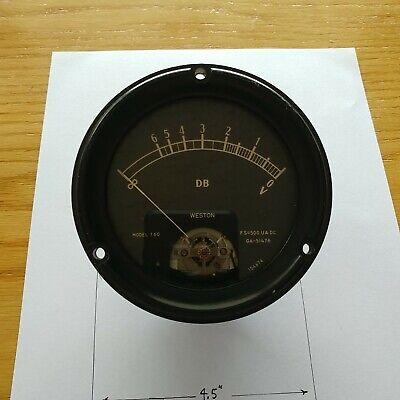 Weston Db Meter. Full Scale 500 Ua