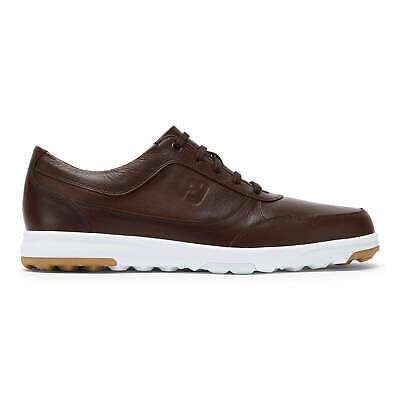 FootJoy FJ Golf Casual Zapatos de para Hombre, Coñac, Impermeable, Spikeless