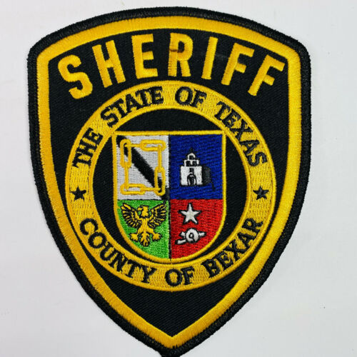 Bexar County Sheriff Texas TX Patch A8A