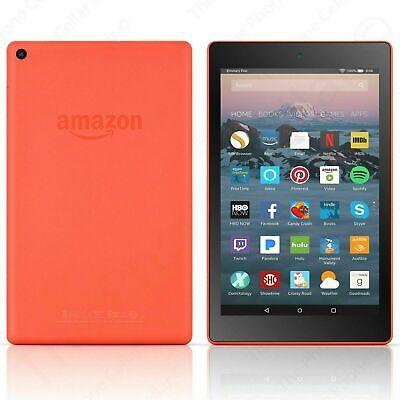 "Amazon Kindle Fire HD 8 Tablet with Alexa, 8"" HD Display 16 GB Orange L5S83A"