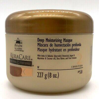 KeraCare Natural Textures Deep Moisture Masque 227G #7550 NEW BROKEN SEAL