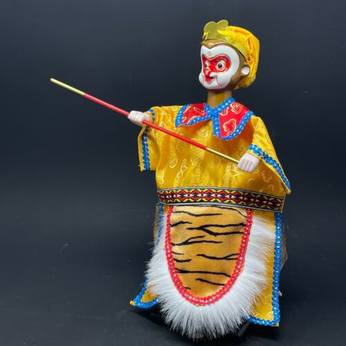 Chinese Folklore Journey to the West Hand Puppet - Monkey King 6/14 - Vintage