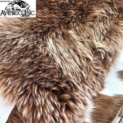 Genuine Australian Sheepskin Rug 2' x 3' High Quality Long Wool Single Pelt