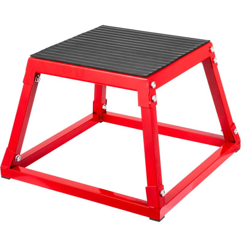 "12"" Plyometric Jump Box Fitness Exercise Plyo Box Step Cross Cushioning Workout"