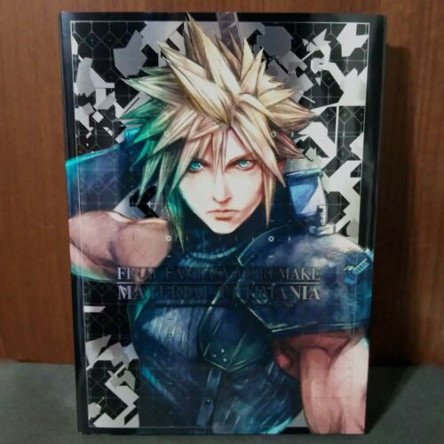 FINAL FANTASY VII 7 Remake Material Ultimania GAME ART BOOK NEW