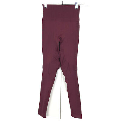 Lululemon High Rise Zone In Legging Tight Wine Berry Size 4
