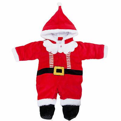 Junge Madchen Unisex Neugeborenen Overall Santa Weihnachten Hut - Baby Santa Hut