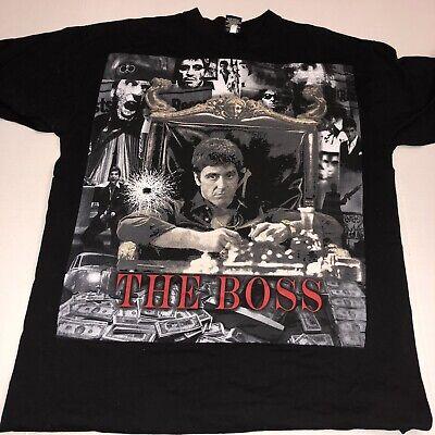 Vintage Scarface  Tony Montana T-Shirt Size 2XL The Boss