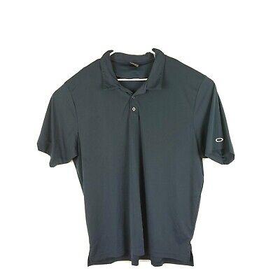 Oakley Mens Regular Fit Short Sleeve Golf Polo Blue Size 3XL XXXL