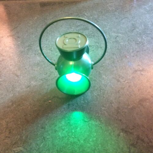 1/4 SCALE GREEN LANTERN POWER LAMP AND FULL SIZE RING