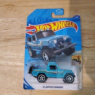 Hot Wheels STH 2020 Super Treasure Hunt '67 Jeepster Commando
