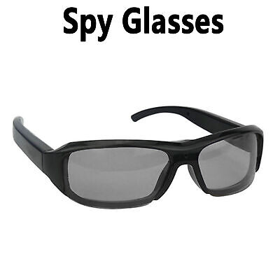 HD Sun Glasses Hidden Eyewear Camera DV Video Audio Camcorder Recorder TF Camera Audio Video Recorder