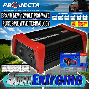 *** PROJECTA 12V PURE SINE WAVE INVERTER 150W WATT CIGARETTE IN CAR POWER PW150